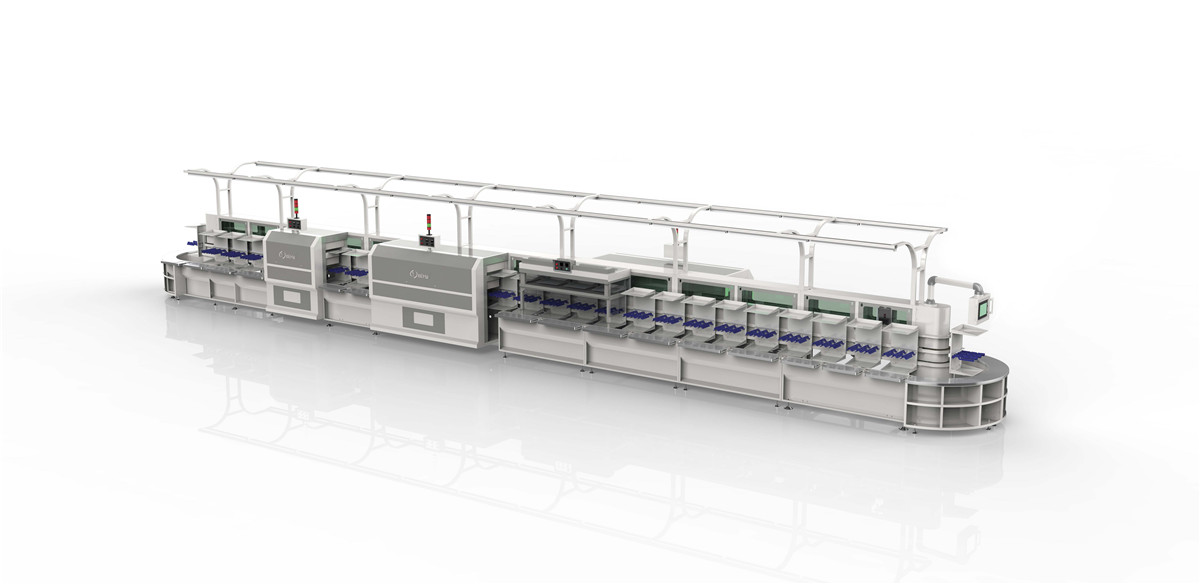 QY-533-T Vertical lean production line (With light stand and fast speed type )